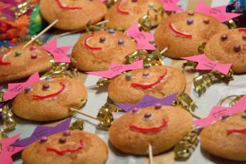 eierkoeken versieren kinderfeestje